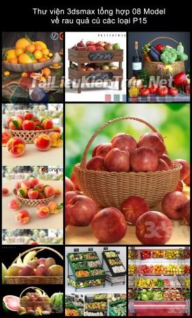 Thư viện 3dsmax tổng hợp 08 Model về rau quả củ các loại P15