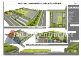 Đồ án công nghiệp nhà máy bê tông đúc sẵn- Nguyễn Minh Trí MS17