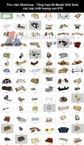 Thư viện Sketchup - Tổng hợp 84 Model Ghế Sofa các loại chất lượng cao 015