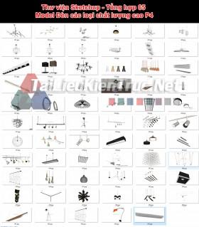 Thư viện Sketchup - Tổng hợp 65 Model Đèn các loại chất lượng cao P4