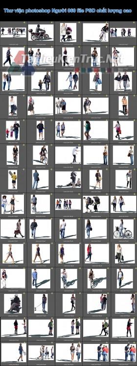 Thư viện photoshop Người 060 file PSD chất lượng cao