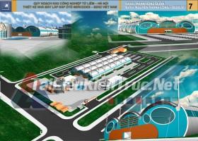 Đồ án tổng hợp quy hoạch khu công nghiệp Từ Liêm Hà Nôi- Thiết kế nhà máy lắp ráp ô tô Mercedes