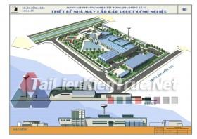 Đồ án tổng hợp quy hoạch khu công nghiệp tập trung dương xá B- thiết kế nhà máy lắp ráp robot