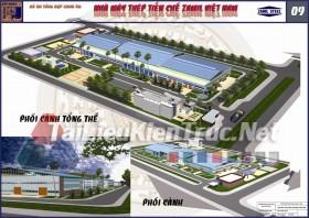 Đồ án tổng hợp quy hoạch khu công nghiệp từ liêm hà nội- Nhà máy thép tiền chế Zamil