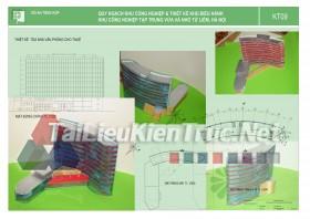 Đồ án tổng hợp quy hoạch khu công nghiệp từ liêm và thiết kế khu điều hành