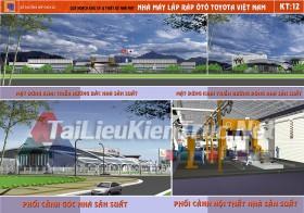 Đồ án tổng hợp quy hoạch khu công nghiệp từ liêm- Nhà máy thiết kế ô tô Toyota