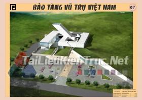 Đồ án tốt nghiệp KTS Bảo Tàng Vũ Trụ Việt Nam