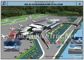 Đồ án tốt nghiệp KTS nhà ga hàng không quốc tế Đà Nẵng
