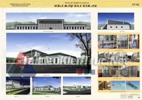 Đồ án tốt nghiệp KTS nhà máy bia Kim An MS145