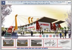 Đồ án tốt nghiệp KTS Quy hoạch chi tiết KCN Long Bình An Tỉnh Tuyên Quang-Nhà máy sản xuất Mô Tô
