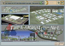 Đồ án tốt nghiệp KTS Quy hoạch chi tiết khu công nghiệp Vạn Ninh- Khánh Hòa