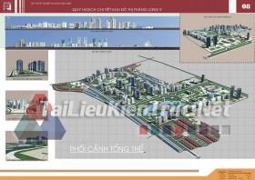 Đồ án tốt nghiệp KTS quy hoạch chi tiết khu đô thị thăng long 9