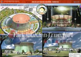 Đồ án tốt nghiệp KTS Quy hoạch khu du lịch văn hóa Hàm Rồng- Thanh Hóa