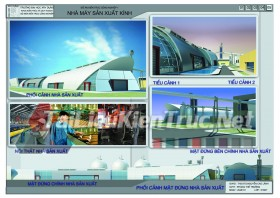Đồ án công nghiệp nhà máy sản xuất kính MS155