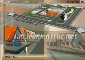 Đồ án kiến trúc công nghiệp thiết kế nhà máy sản xuất cấu kiện bê tông MS160