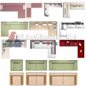 Thư viện mặt bằng Photoshop tổng hợp về Các loại đồ đạc trong nhà 037 dowload