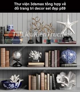 Thư viện 3dsMax tổng hợp về đồ trang trí decor set đẹp p59