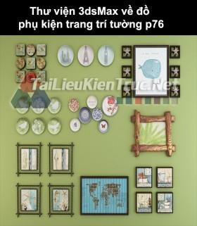 Thư viện 3dsMax về đồ phụ kiện trang trí tường p76