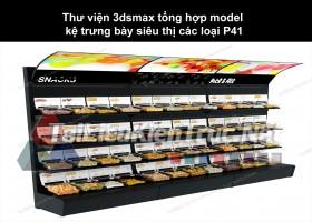 Thư viện 3dsmax tổng hợp Model kệ trưng bày siêu thị các loại P41