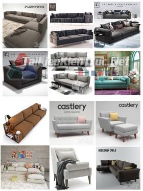 Thư viện Tổng hợp 12 File 3D model Sofa cực đẹp P15