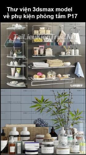 Thư viện 3dsmax model về phụ kiện đồ đạc phòng tắm P17