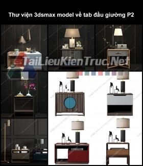 Thư viện 3dsmax model về tab đầu giường P2