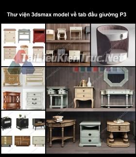 Thư viện 3dsmax model về tab đầu giường P3