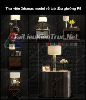 Thư viện 3dsmax model về tab đầu giường P5
