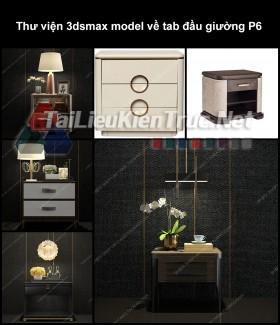 Thư viện 3dsmax model về tab đầu giường P6