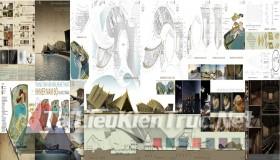Đồ án tốt nghiệp kiến trúc - Trung tâm văn hóa nghệ thuật Khmer Nam Bộ