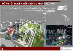 Đồ án tốt nghiệp kiến trúc - Trung tâm truyền hình KTS VTC