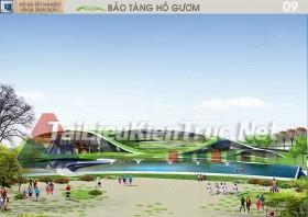 Đồ án tốt nghiệp KTS Bảo tàng Hồ Gươm - Quách Thế Anh
