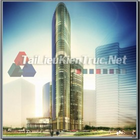 Đồ án tốt nghiệp KTS Concept  - Tổ hợp Tòa nhà EVNLand Hồ Chí Minh
