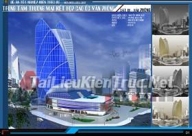 Đồ án tốt nghiệp KTS Trung tâm thương mại cao ốc văn phòng Cát Bi - Hải phòng
