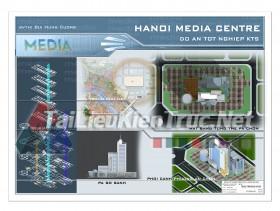Đồ án tốt nghiệp KTS- Hà Nội Media center
