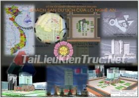 Đồ án tốt nghiệp KTS - Khách sạn du lịch cửa lò Nghệ An