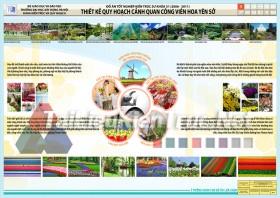 Đồ án tốt nghiệp KTS - Thiết kế quy hoạch cảnh quan công viên hoa Yên Sở