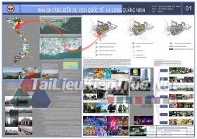 Đồ án tốt nghiệp KTS- Nhà ga cảng biển du lịch quốc tế Hạ Long