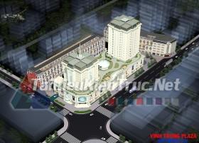 Đồ án tốt nghiệp KTS - Khách sạn Vinh Trung Plaza