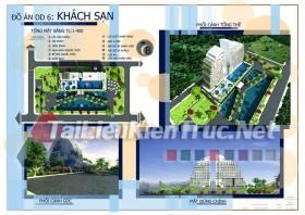 Đồ án tốt nghiệp KTS - Tổng hợp 55MB đồ án khách sạn