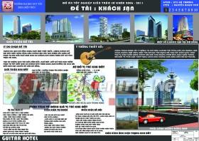 Đồ án tót nghiệp KTS - Khách sạn Guitar Hotel