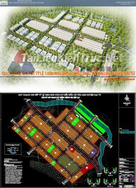 Full hồ sơ thiết kế quy hoạch Khu dân cư kiểu mẫu Tân Linh - Đại Từ (3DMAX, FILE CAD, SLIDE POWPOINT BÁO CÁO )