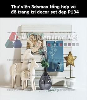 Thư viện 3dsMax tổng hợp về đồ trang trí decor set đẹp p134