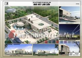 Đồ án tốt nghiệp KTS - Nhà hát Lam Sơn
