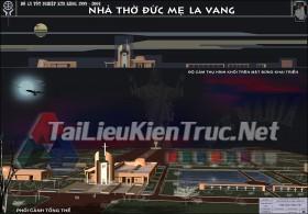 Đồ án tốt nghiệp KTS - Nhà Thờ Đức Mẹ La Vang
