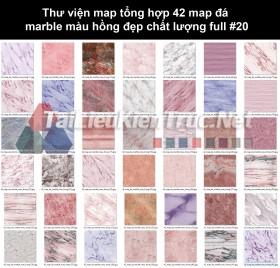Thư viện map tổng hợp 42 map đá marble màu hồng đẹp chất lượng full #20