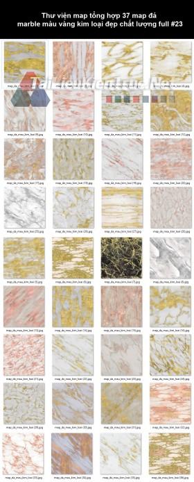 Thư viện map tổng hợp 37 map đá marble màu vàng kim loại đẹp chất lượng full #23