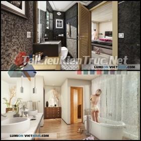 Thư viên Lumion Tổng hợp về nội thất phòng tắm chất lượng p2