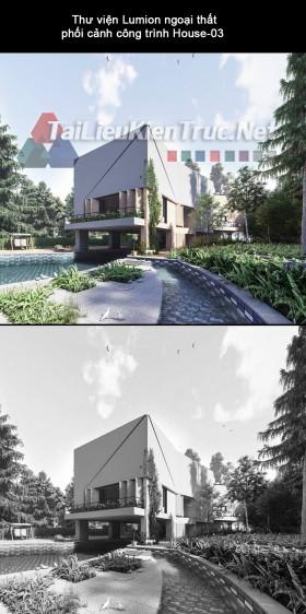 Thư viện Lumion ngoại thất phối cảnh công trình House-03