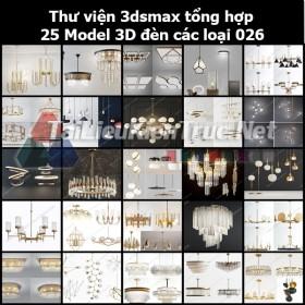 Thư viện 3dsmax Tổng hợp 25 Model 3D đèn các loại 026
